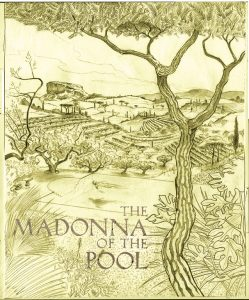Book Illustrator The Madonna of the Pool Cover Draft