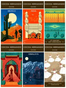 Rui's Designs for 'Cocoa Hernando' Chocolate Brand Book Cover