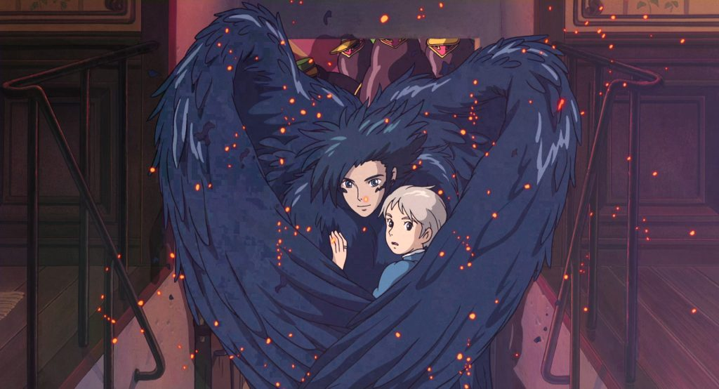 Howl's Moving Castle Howl and Sophie