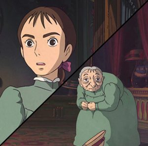 Howl's Moving Castle Sophie Curse