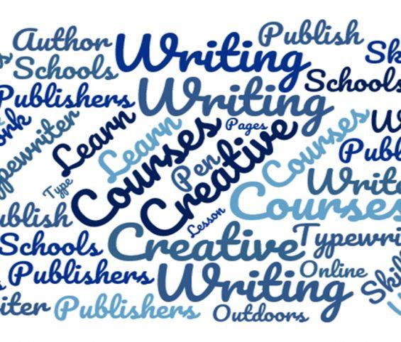 Study creative writing in england