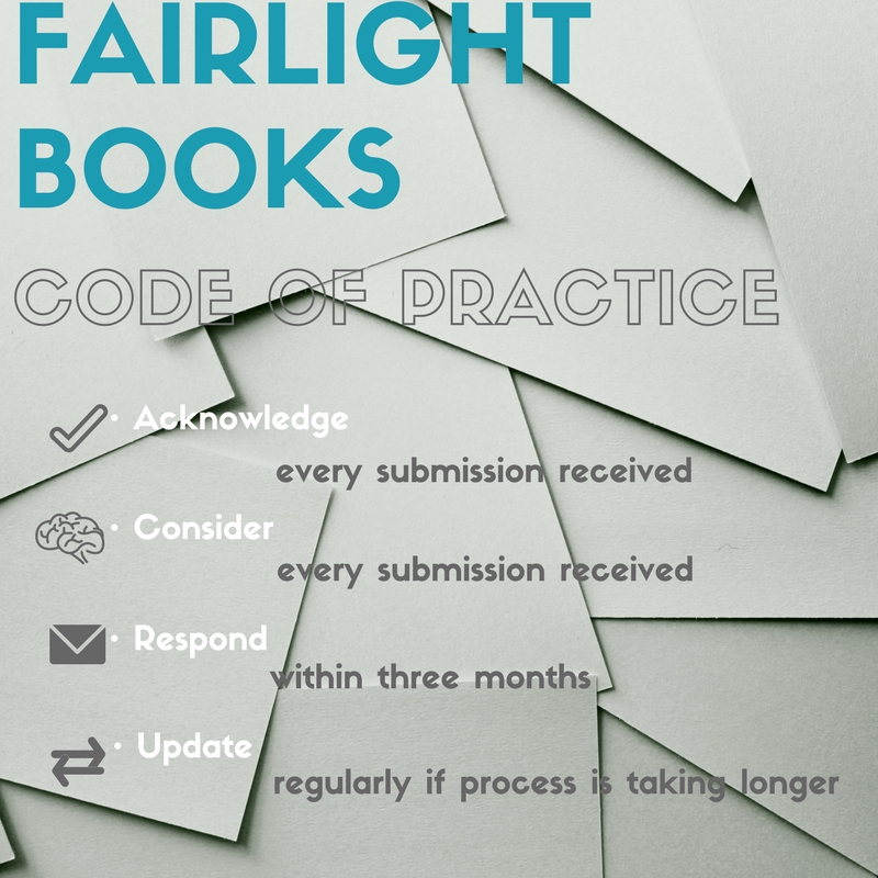 code of practice for manucript submissions
