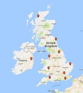 Unique Bookshops Map