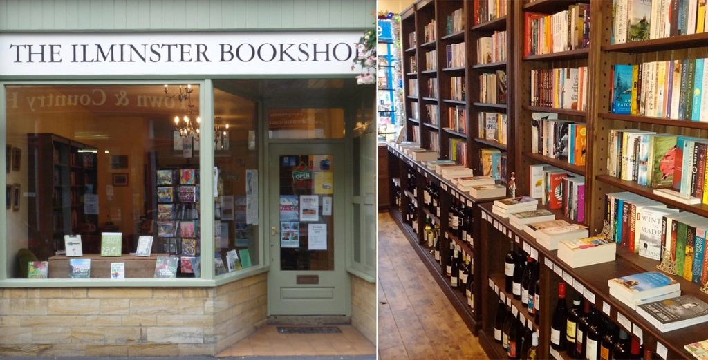 The Ilminster Bookshop Unique Bookshops