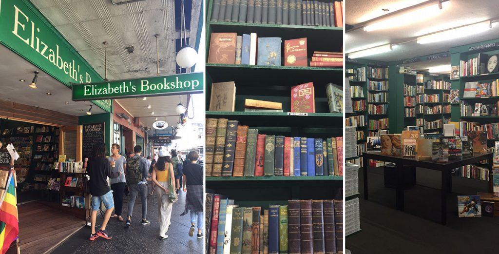 Sydney Bookshop Crawl Elizabeth's Bookshop