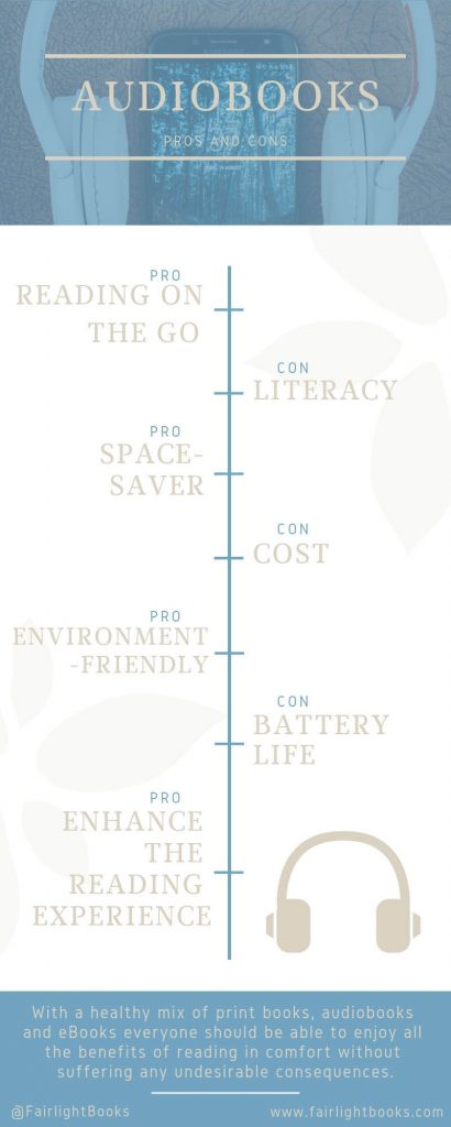 Pros and Cons of Audiobooks