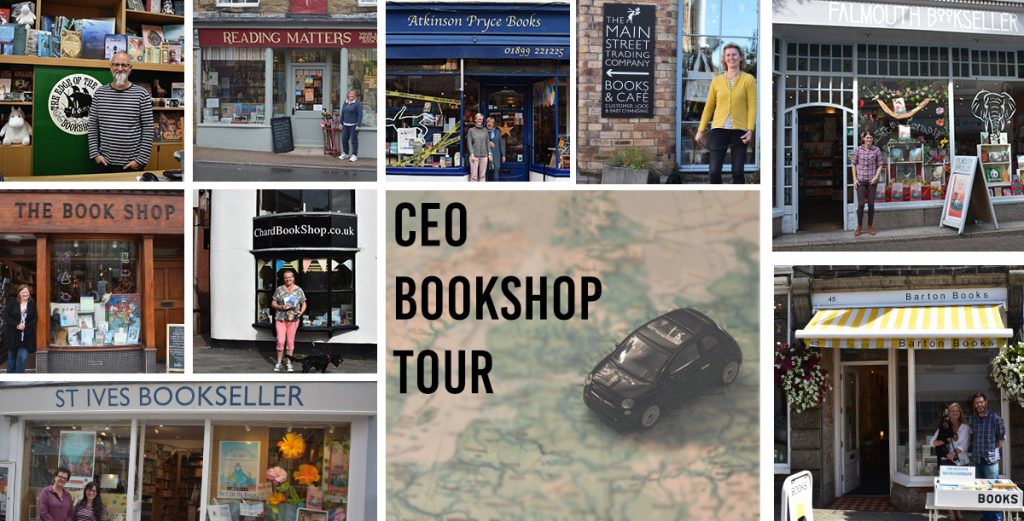 CEO Bookshop Tour