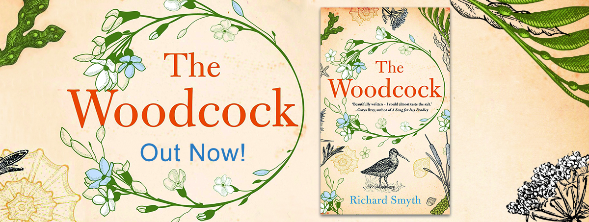The Woodcock Website Banner-Out Now